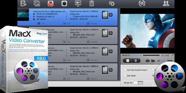 WinX HD Video Converter Deluxe (Win + Mac) derzeit kostenlos bis 12.3.2016