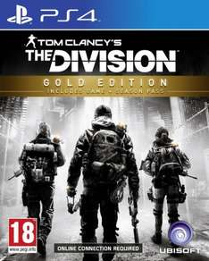 [Amazon.co.uk] Tom Clancy's The Division - Gold Edition (PS4)