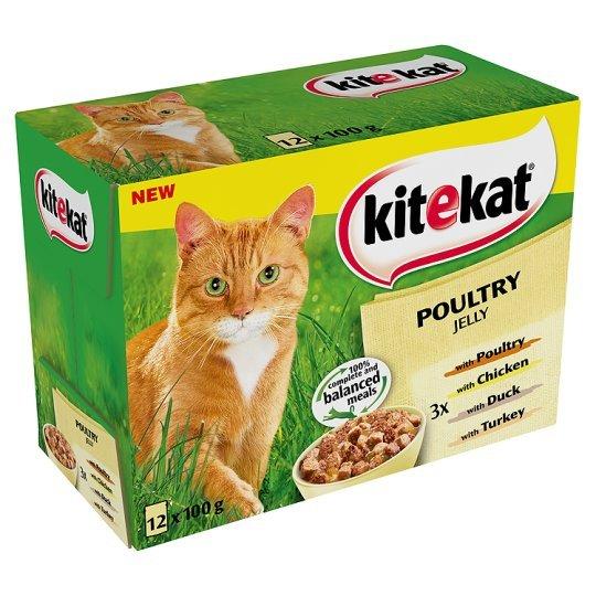 [REWE] Kitekat Katzenfutter 12x 100g für 0,99€ (Angebot+Coupon)