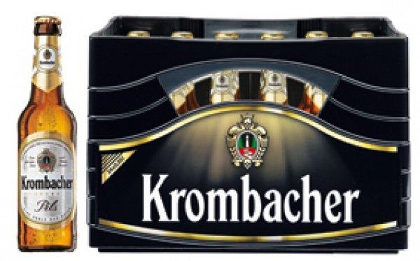 Real Bundesweit Krombacher 20x0,5 / 24x0,33 l 9,99€