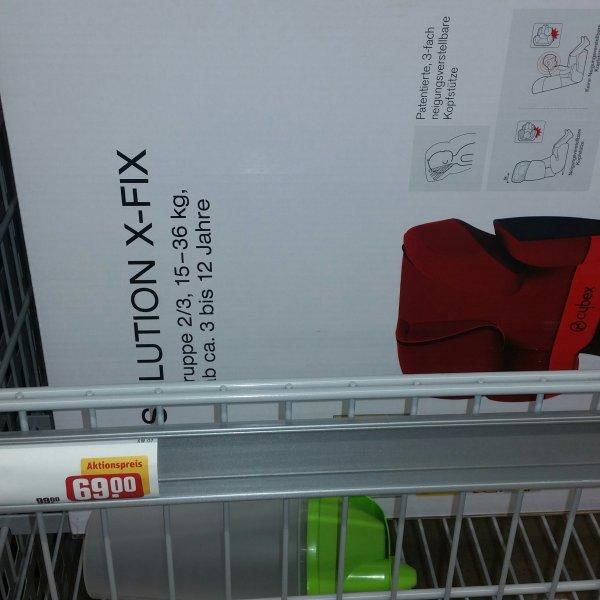 Kindersitz Cybex Solution X-Fix für nur 69,99 evtl. nur Lokal
