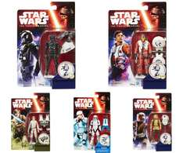 "Hasbro™ - Action/Sammel-Figur ""Star Wars The Force Awakens 2015"" (5 Varianten) für je €7,75 [@Zavvi.com]"