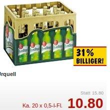 Kiste Pilsner Urquell @Kaufland Ost für 10,80 Euro