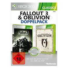 [Real] Fallout 3 & The Elder Scrolls IV: Oblivion (Xbox 360) (Disc-Version) für 15€ versandkostenfrei