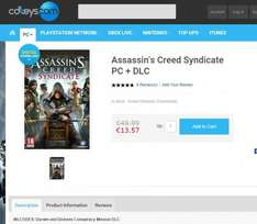 [PC DEAL]**12,89€** Assasin's Creed Syndicate + DLC   (Bestpreis!)