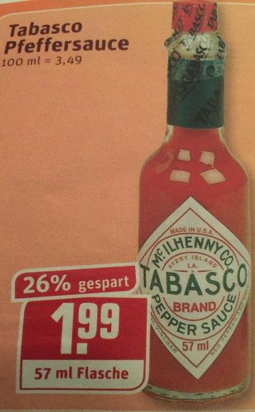 [Rewe (evtl. nur NRW)] Tabasco 57ml 1,99€
