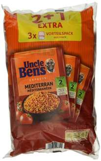 Amazon Prime : Uncle Ben's Express 4 plus 2 Vorteilspack ( Sorten Mediterran &Mexikanisch) , 2er Pack (2 x 750 g) - Nur 7,50 €