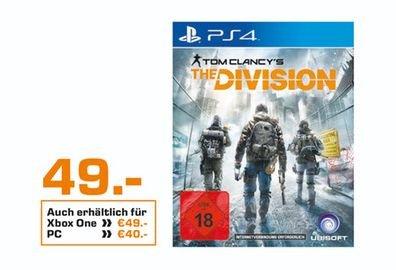 [Lokal Saturn Friedberg und Augsburg] Tom Clancy's The Division (PS4 und XB1) für je 49,-€