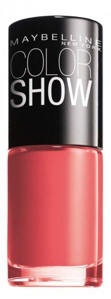 3er Pack Maybelline Color Show Nagellack 342 Coral Craze @Amazon PlusProdukt (0,45€ je Fläschchen/über 83% unter Drogeriepreis)