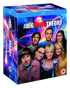 The Big Bang Theory - Staffeln 1-8 (Blu-ray) OT für 39,54€ bei Amazon.co.uk