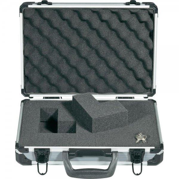 [Conrad] Basetech Alukoffer mit Rasterschaum (330 x 230 x 90mm) aus Aluminium + 3teiliges Maßband-Set (3m, 5m, 8m / Klasse II) für ~20,56€