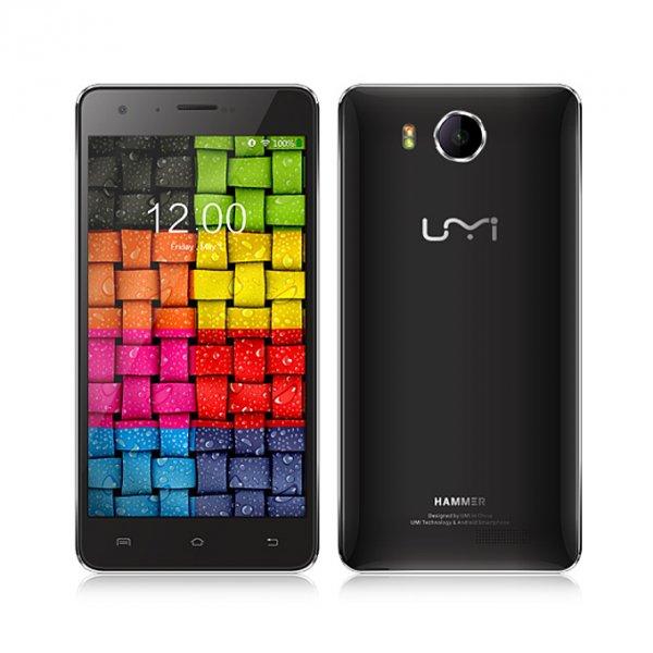 [Geekvida] Umi Hammer LTE [inkl. Band 20] + Dual-SIM (5'' HD IPS, MTK6732 Quadcore, 2GB RAM, 16GB intern, 13MP + 3,2MP Kamera, BT 4.0 + Wlan ac, outdoortauglich, 1700 mAh, Android 5.1) für 89,99€