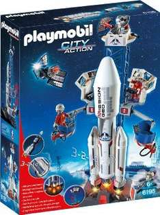 PLAYMOBIL 6195 - Weltraumrakete mit Basisstation @ Amazon