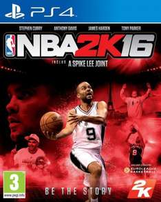 NBA 2K16 (Playstation 4) für 34,61€ bei Amazon.fr