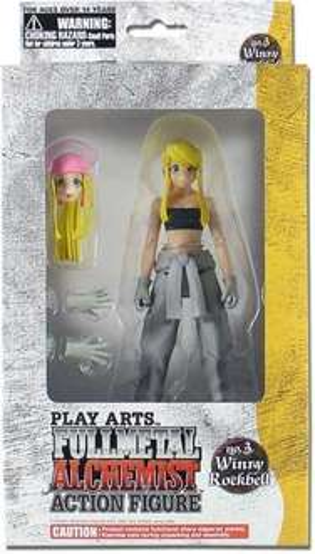 Fullmetal Alchemist Winry Rockbell 7 inch Action Figure