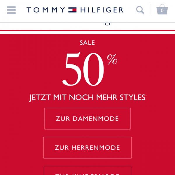 Tommy Hilfiger - 50% - 10% - 4% SALE