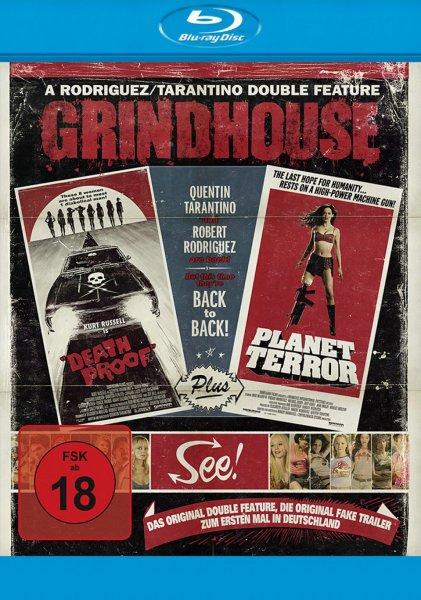 [Mediadealer] Grindhouse Doublefeature Planet Terror Death Proof Blu-ray für 9,96€ inkl. Versand