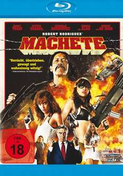 [Mediadealer] Machete (Blu-ray) für 7,98€ inkl. Versand