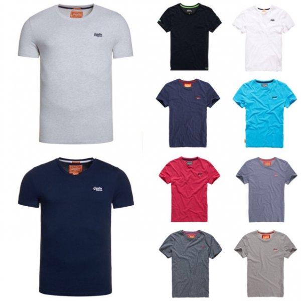 WOW Angebot! Herren Superdry T-Shirts Versch. Modelle und Farben