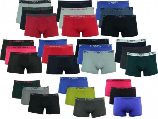 ( Ebay WOW ) 3er Pack Emporio Armani Unterwäsche Herren Boxershorts verschiedene Modelle
