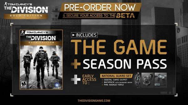 The Division Gold Key @ http://gamazavr.ru nur russisch