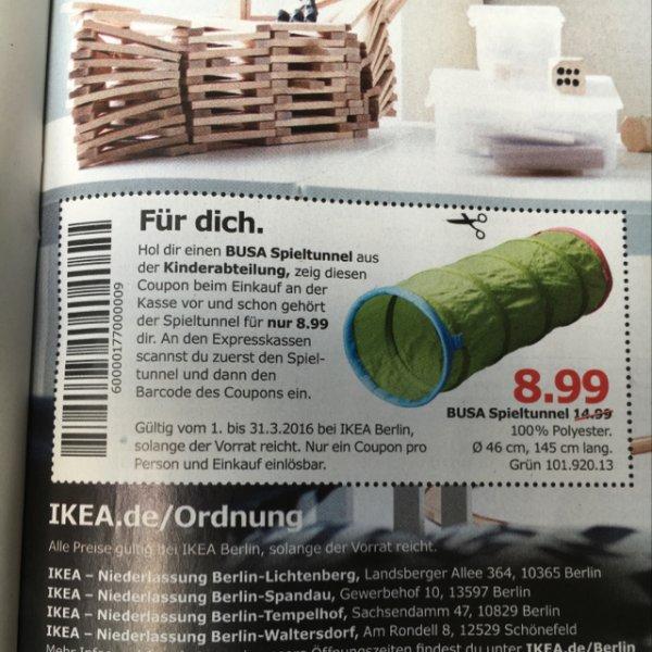IKEA Busa Spieltunnel [Lokal Berlin]