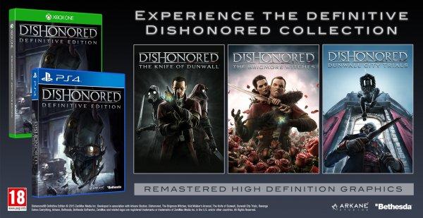 (UK)  Dishonored Definitive Edition XBOX ONE für  15,30€  @ Shopto