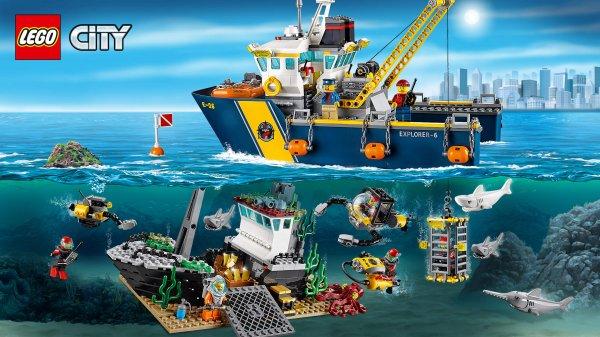 Mytime.de / Lego City - Tiefsee-Expeditionsschiff (60095) und weitere Lego Angebote