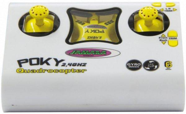 [Media Markt] JAMARA Poky Quadrocopter Gelb 038320