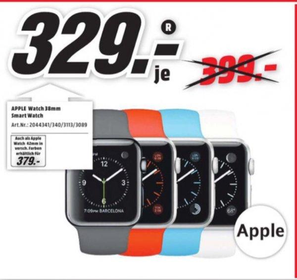 Apple Watch günstig bei Media-Markt