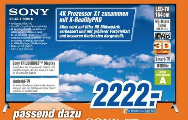 (Expert) Sony KD-65X9005C/ Lokal Halle/Saale
