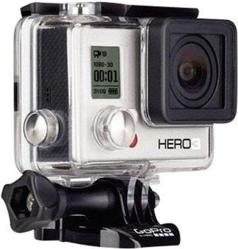 """[Mediamarkt.at] GoPro Hero 3 """"White Edition"""" + 2. Akku inkl. Versand nach DE für 153,99€"""