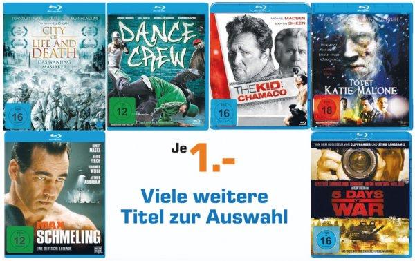 [LOKAL Saturn Moers] Verschiedene Blu-Ray für 1€