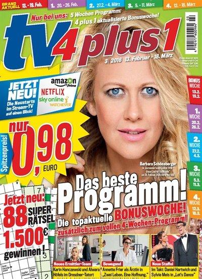 TV4Plus1 – aktuelle Ausgabe wieder kostenlos und unverbindlich