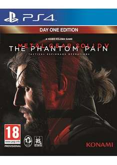 Metal Gear Solid V: The Phantom Pain (PS4 / Xbox One) für 27,38€ bei Base.com