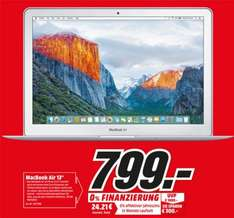 "MacBook Air 13"" 799€ - Jubiläum [ Media Markt Pirmasens ]"