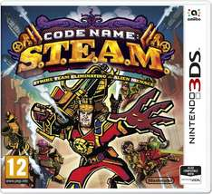 Code Name: S.T.E.A.M. (Nintendo 3DS/2DS) für 10,15€ bei Amazon.co.uk