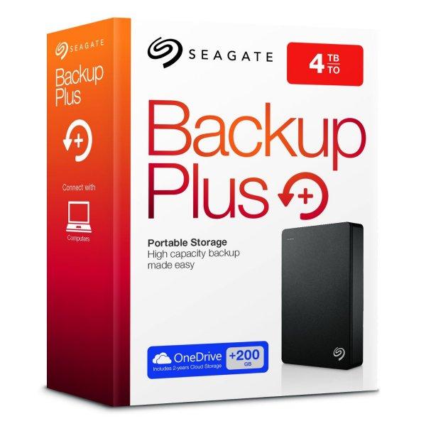 "Seagate Backup 4TB Portable - externe 2,5"" HDD Festplatte"