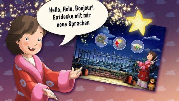 """[iOS & Android] Sprachlern-App """"Lauras Stern - Sprachen lernen"""" kostenlos (statt 2,99€)"""