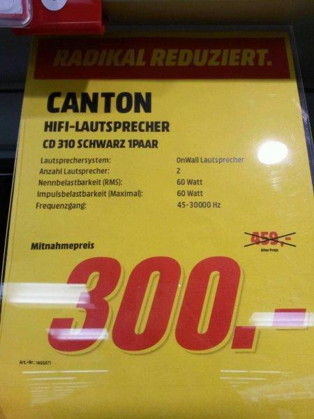Canton CD 310 Regallautsprecher Lokal Hückelhoven bei Erkelenz