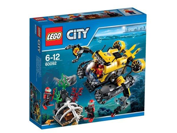duo schreib & spiel: LEGO City 60092  Tiefsee-U-Boot für 21,62€