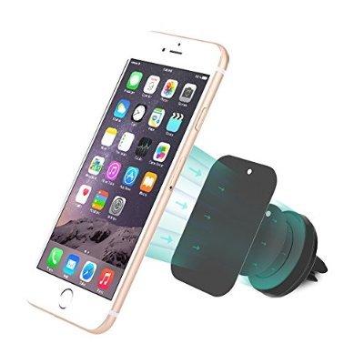 [Apple MFI zertifiziert] Kfz/Auto Handyhalterung mit Magnet für iPhone 4s, 5, 5c, 6, 6 Plus, Samsung Galaxy S3, S4, S5 sowie Note 2, 3, 4 und HTC One