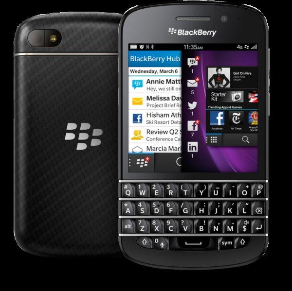Ebay WoW: Blackberry Q10 Smartphone (7,9 cm (3,1 Zoll) AMOLED, Cortex-A9, Dual-Core, 1,5GHz, 2GB RAM, 16GB, 8 Megapixel Kamera, QWERTZ, BlackBerry 10 OS) schwarz [B-Ware]