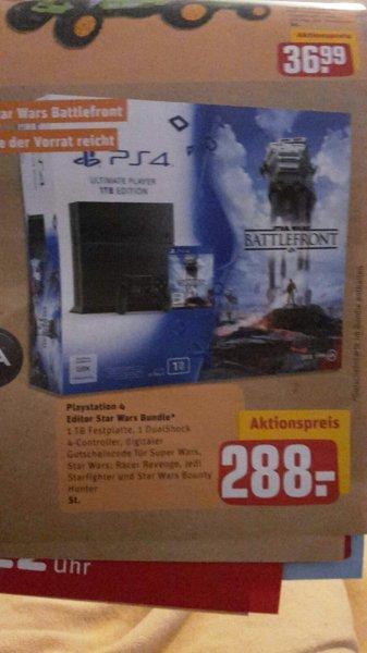 Lokal Norderstedt Garstedt PS4 1TB mit Battlefront 288