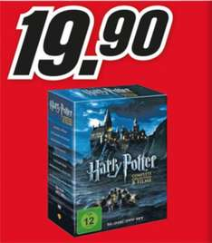 [LOKAL Media-Markt Duisburg] Harry Potter Complete Collection DVD 19,90€