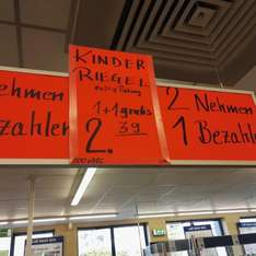 Kinder-Riegel 10x21g @LIDL Bad Nauheim-----Buy one get one free