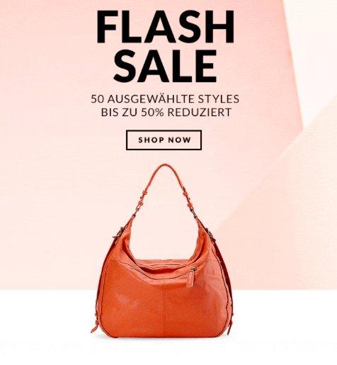 Flash-Sale bei Liebeskind mit bis zu 50% Rabatt auf Taschen und 10€ Rabatt ab 49€ Bestellwert