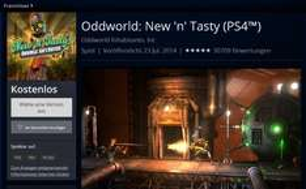 Oddworld: New 'n' Tasty (PS4™) - für den einen oder anderen u.U. sogar Kostenlos