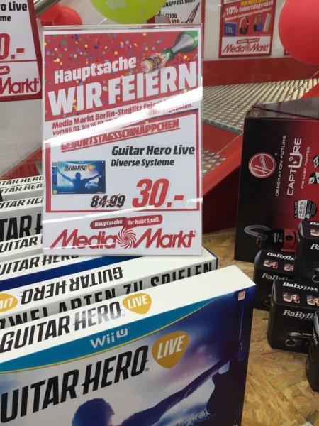 (Lokal) Guitar Hero Live für diverse Konsolen - MM Berlin Steglitz