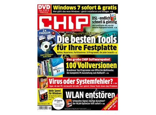 Deutschlandcard - Chip mit DVD Halbjahresabo für 999 Punkte